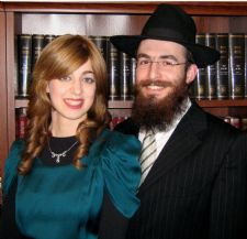 Rabbi Mendel & Leah Blecher