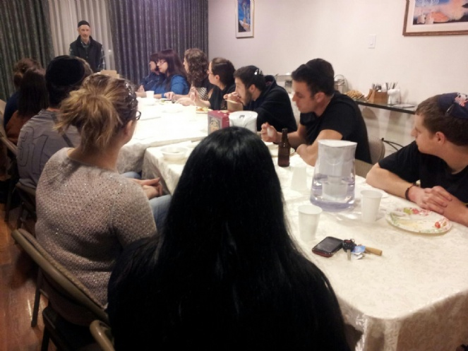Young Adults Professional Class at Chabad of Uptown Houston