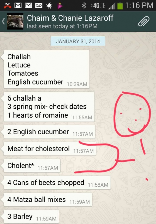 cholent cholesterol autocorrect .jpg